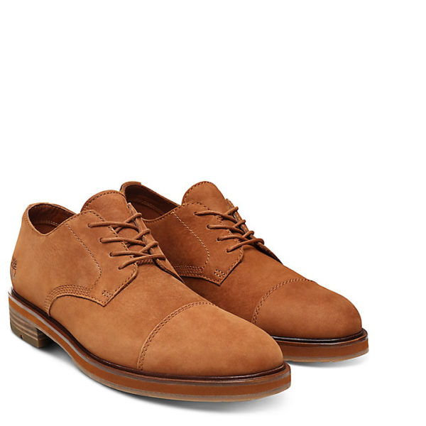 Windbucks Cap Toe Oxford For Men In Rust Timberland Is